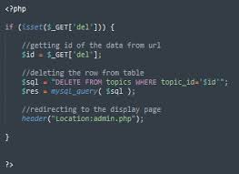 Delete Data From Table Session Php Prevent Url Input To Delete Row In Database Stack