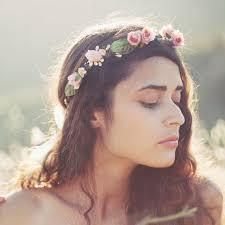 flower headpiece bridal flower crown pink floral wreath flower crown boho
