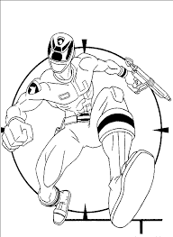 printable coloring pages power rangers coloring pages