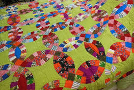 Double Wedding Ring Quilt by Bluebird Gardens Quilts And Gifts