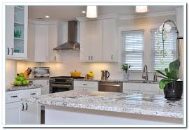 Shaker Style White Cabinets Applying Shaker Cabinets Kitchen For Functional Design Home And