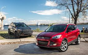 jeep ford 2017 jeep cherokee trailhawk vs ford escape city mouse or country