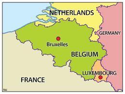 map belguim belgie map major tourist attractions maps