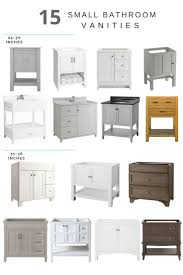 Ideas For Bathroom Vanity by Best 20 Small Bathroom Vanities Ideas On Pinterest Grey