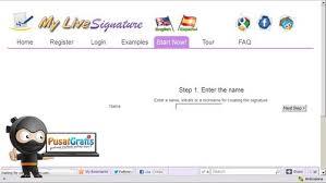 membuat tanda tangan digital gratis yuk bikin tanda tangan online dengan mylivesignature pusat gratis