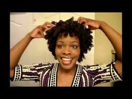aleeping in petm rods natural hair perm rod set youtube