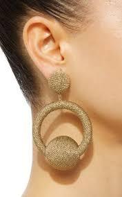 hoop la earrings hoop la la earrings by de ravenel m o