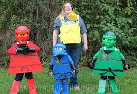 ninjago warrior and babywearing lego costume tutorial happenings