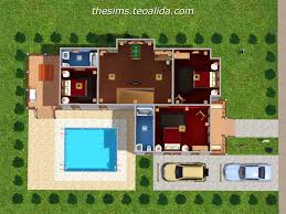 L Shaped House Plans by Sims Deluxe Edition House Plans House Plans