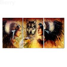 online get cheap diamond painting people wolf aliexpress com