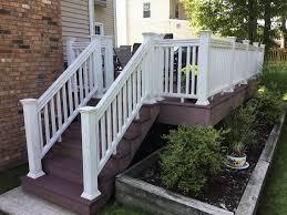 can you paint composite deck railings monk u0027s home improvements