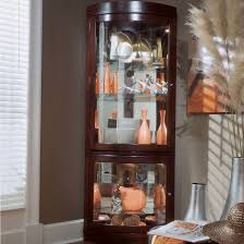cherry corner curio cabinet elegant corner curio cabinet ikea homes furniture ideas
