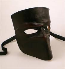 bauta mask leather bauta mask venetian leather mask visions of venice