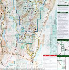 Michigan Orv Trail Maps by Trail Map Of Paiute Atv Trail Fish Lake Nationak Forest Utah