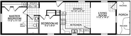4 Bedroom Single Wide Floor Plans 2 Bedroom Single Wide Mobile Homes Home Design Styles