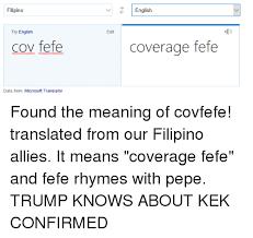 Meaning Of Meme In English - filipino try english cov fefe data from microsoft translator edit
