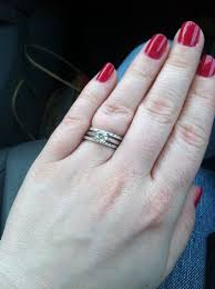 2 wedding bands found on weddingbee your inspiration today top