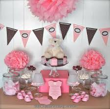 ana silk flowers girls baby shower decorations ideas