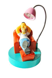 homer simpson usb computer desk lamp from shocking fun