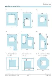 Volume Worksheets Ks3 Ks3 Area And Perimeter U2013 Compound Shapes Teachit Maths