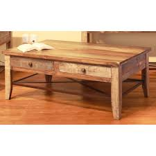 Wood Coffee Table Pine Two Tone Wood Coffee Table Tanmeron Rc Willey Furniture Store