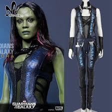 gamora costume guardians of the galaxy gamora costume leather gamora
