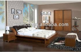 Solid Wood Contemporary Bedroom Furniture - contemporary bedroom solid wooden furniture casual box bed