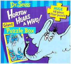 dr seuss horton hears floor puzzle floor puzzle