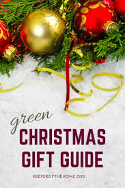 green christmas gifts guide keeper of the home