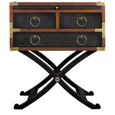 caign style side tables style side table black