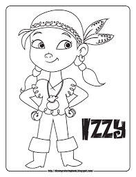 disney coloring pages and sheets for kids jake the neverland