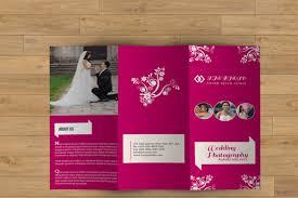 wedding brochure template 23 free psd ai vector eps format