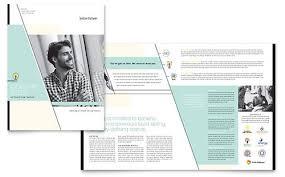 11x17 a3 brochure templates word u0026 publisher