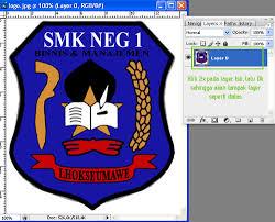 membuat logo kelas dengan photoshop membuat pantulan logo pada photoshop jaka zulham