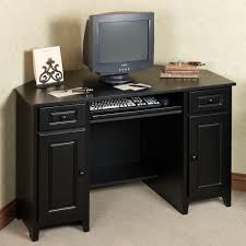 wooden corner computer desk corner desk with hutch dark home pinterest small corner desk