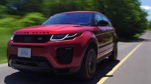 2017 range rover evoque review yuri and jakub go for a drive