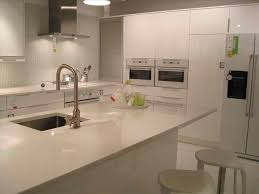 modern gloss kitchens gloss kitchens grey and white modern design idea faucet opal stone