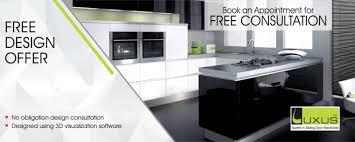 Free Design Kitchen Free Kitchen Design Offer Luxus India