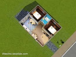 starter home floor plans the sims house downloads home ideas and floor plans part 4