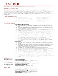Resume For Human Resources Free Resume Templates For Human Resources