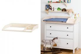 wickeltisch design wickeltisch mit zusätzlichem stauraum für hemnes kommoden new
