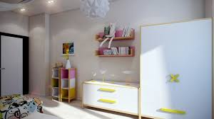 Modern Kids Bedroom Ceiling Designs Casting Color Over Kids Rooms