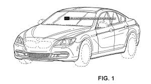 bmw 4 door coupe patent sketches leaked
