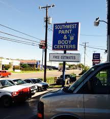 southwest paint u0026 body centers body shops 12500 nacogdoches rd