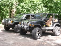 lifted jeep green 98 wrangler 1998 jeep tj specs photos modification info at
