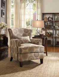 Brown Accent Chair Fabric Upholstered Accent Chair Foter