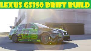 lexus gs f v10 streettunerz forza 6 lexus gs350 f sport drift youtube