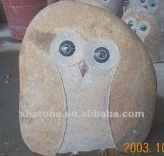 garden ornaments river mini owl carvings carved chest buy