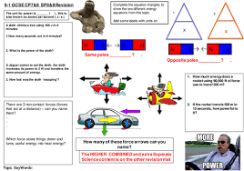 How Many Of These Powerful by Work And Power Revision Mat For Edexcel 9 1 Cp7 8 Sp8 9 By Mirri45