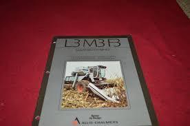 allis chalmers l3 m3 f3 gleaner combine tractor dealer u0027s brochure